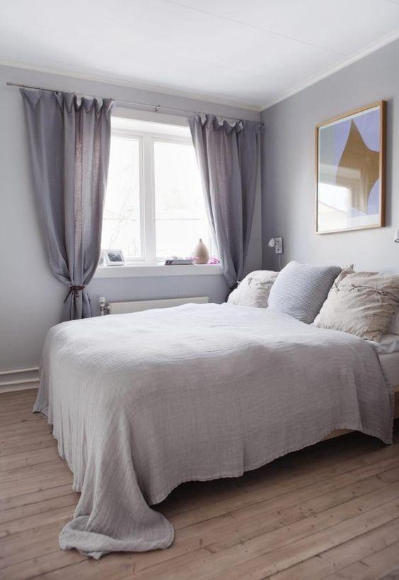 Dus sØvn: soverommet er malt i to ulikegrå nyanser fra jotun lady ...