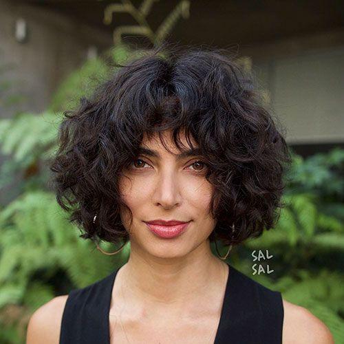Short Curly Hair For Round Face Short Shag Haircuts Curly Hair Photos Short Layered Haircuts