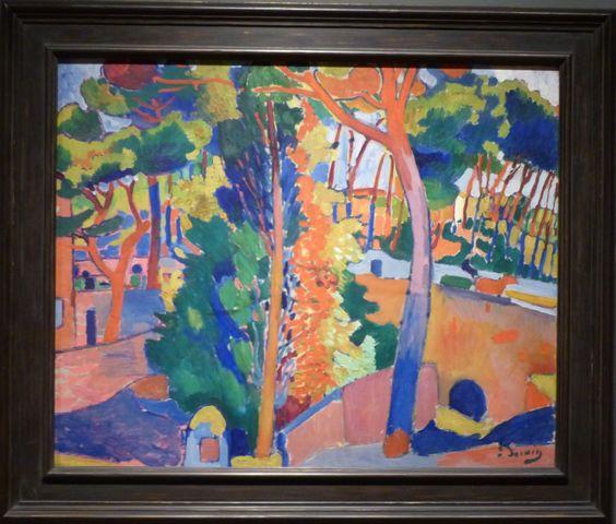 Bridge Over the Riou, Andre Derain (Paley Collection, MoMA)