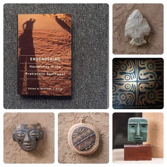 • Engendering Households in the Prehistoric Southwest • Publisher: The University of Arizona Press Editing: Barbara J. Roth Book Jacket Photo & Post Photos: Artotems Co.  #southwest #prehistoric #indigenous #Trincheras #nativeamerican #anthropology #archaeology #video #book #read #booksantafe #flute #turtle