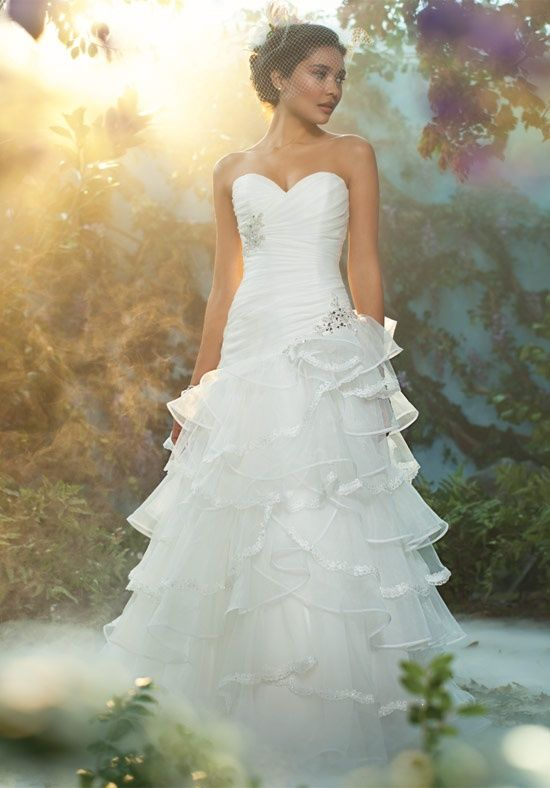 Simple The Tiana Wedding Gown Part Of Disney Us Fairy Tale Weddings By Alfred Angelo