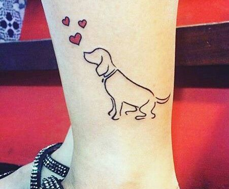 tatuagem cão