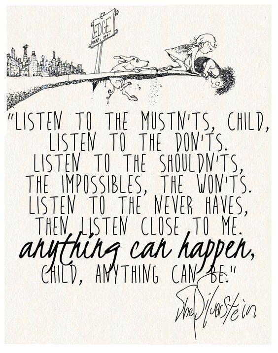 Shel silverstein quotes