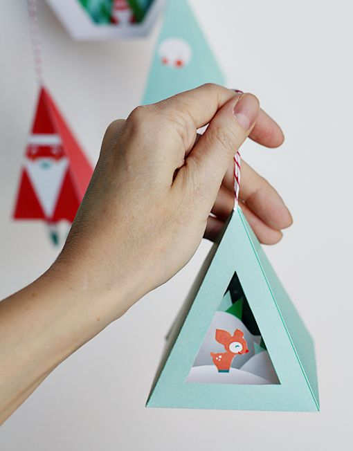 Christmas Ornaments Printable Download Diy These Quick