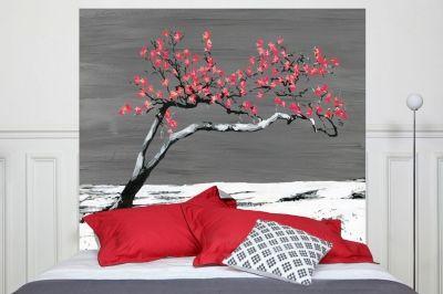 Tête de lit Renaissance Rouge 160*140 cm