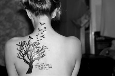 tree tattoo -  #tattoo