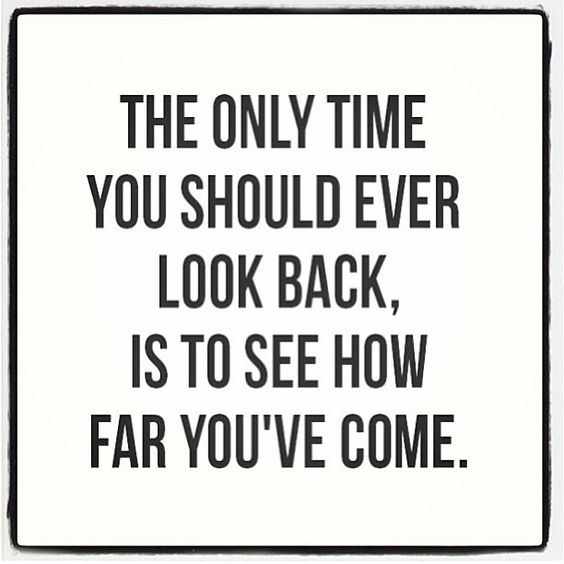 Motivation Picture Quote Dont Look Back