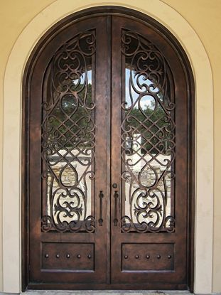 Wrought Iron Double Door Front Doors Amp Foyers