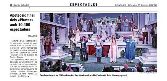 Teatre sabadell, Fotos del Teatre del sol