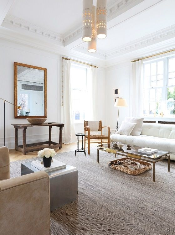 Clean And Minimal With Lots Of Detail Nate Berkus Interiors Manhattan Penthouse Arch Architectural Digest Living Room Luxury Home Decor Home Decor Bedroom