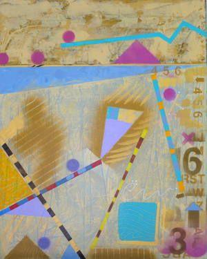 "Saatchi Art Artist Gordon Sellen; Painting, ""Stix""  24"" x 30"" x 1.5"" www.gordonsellen.com"