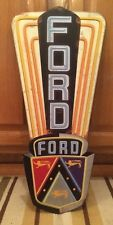 FORD metal Mustang Boss Classic Vintage Neon Look Car Truck Wall Decor Man Cave