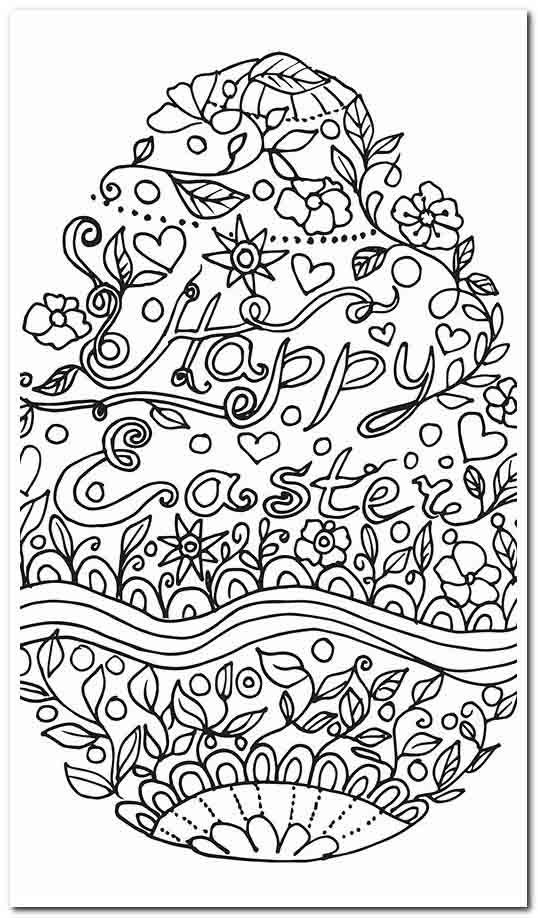 65 Coloring Pages Color Scemes Free Easter Coloring Pages Easter Coloring Pages Easter Coloring Sheets