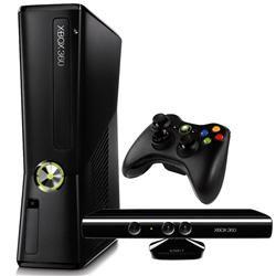 Console Xbox 360 - 4GB com Kinect Microsoft