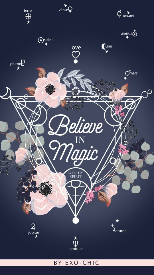 Free Believe In Magic Wallpaper From Exochic Witchy Wallpaper