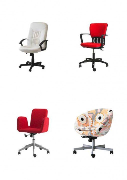 Ikea Desk Chairs Canada Ideas To Decorate Desk Dengan Gambar