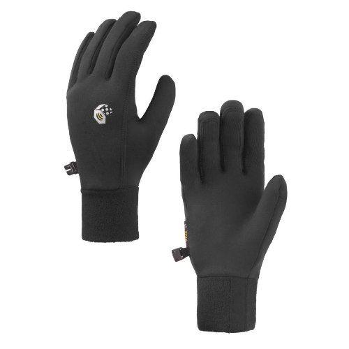 Climbing-Mountain Hardwear Power Stretch Glove - Women's Black Large -- Check…