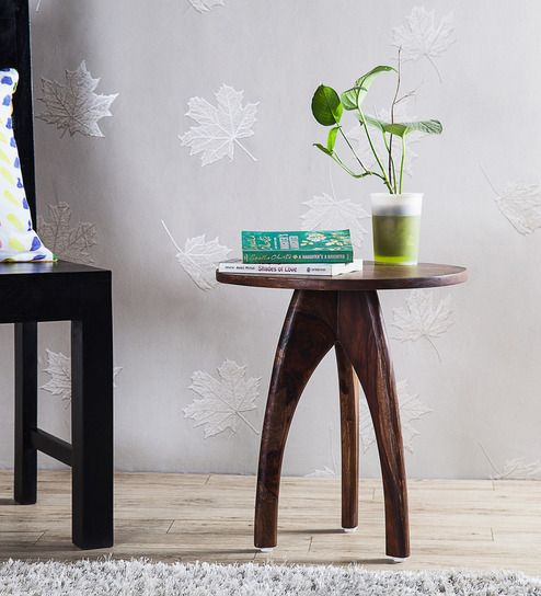 Arbor End Table in Provincial Teak Finish by Woodsworth
