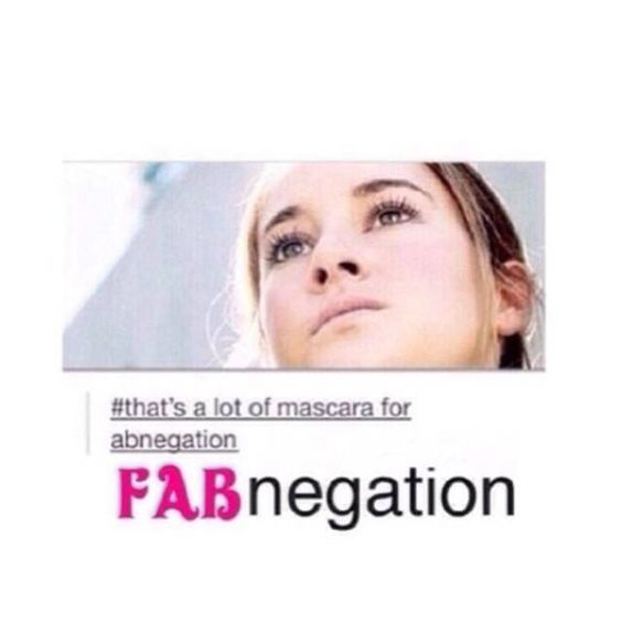 This is so true!! FABNEGATION ALL THE WAY!!!