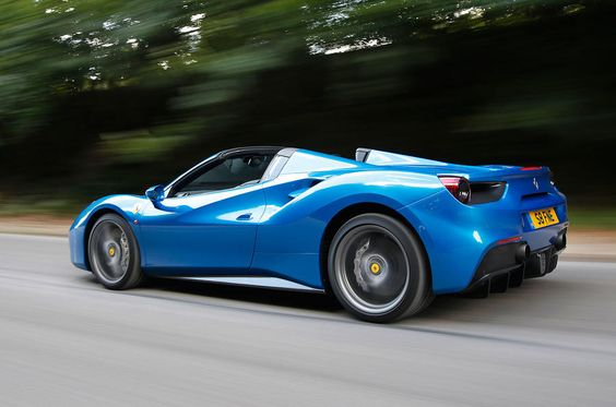 2016 Ferrari 488 Spider UK review