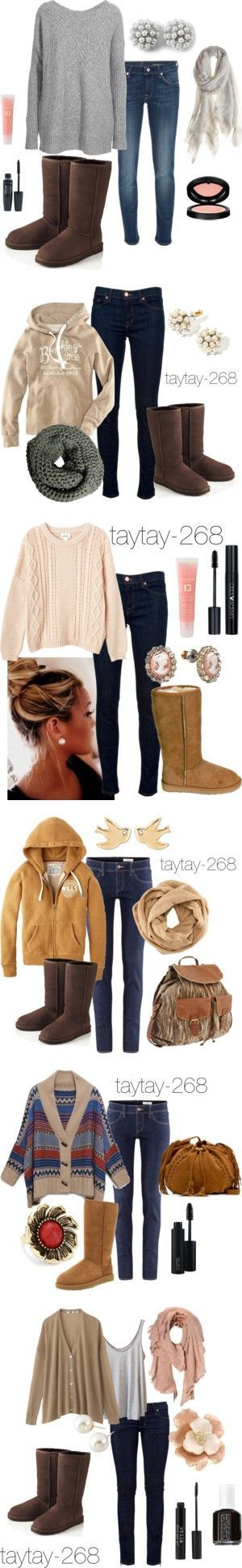 """""""Uggs Are Uhh-Mazing"""" by taytay-268 on Polyvore"""
