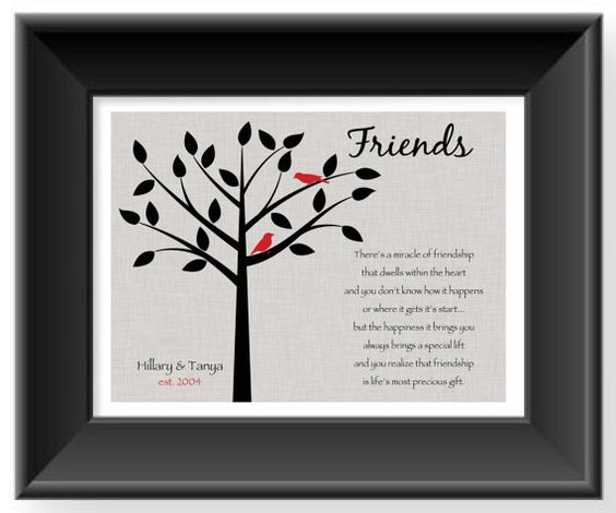 Good Wedding Gifts For Friends: Personalized Gift For A Special Friend
