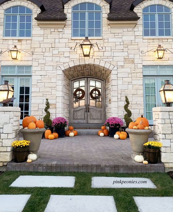 Halloween Home Design Ideas: Pink Peonies, Peonies And Home Exteriors On Pinterest