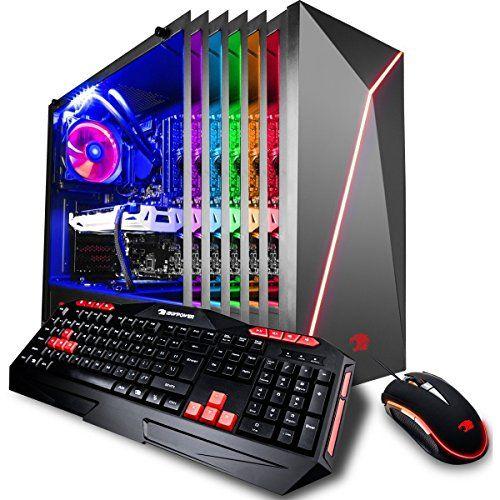 Ibuypower Gaming Pc Desktop 9200 I7 8700k 6 Core 3 7 Ghz Liquid