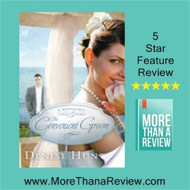 Denise Hunter is a new author for me.  I really enjoyed The Convenient Groom.