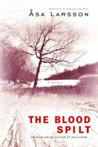 book cover of   The Blood Spilt