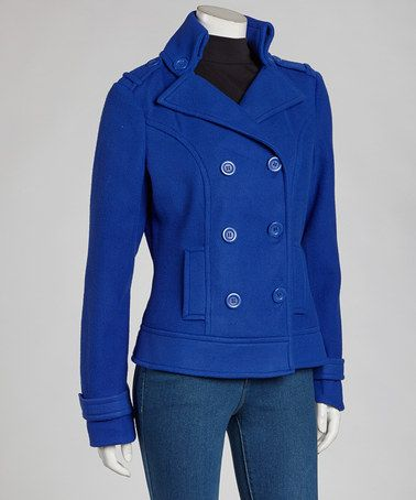 Royal Blue Knit Peacoat   Other Colors and The o&39jays