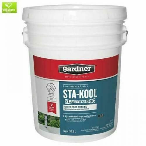 Sponsored Ebay 5 Gallon Roof Elastomeric Coating Rv Rubber Metal Tar Mobile Home White Sealant Elastomeric Roof Coating Roof Coating Metal Roof Coating