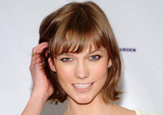karlie kloss haircut beauty pinterest best