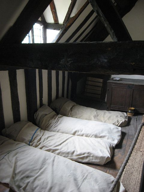 Beamed Bedroom, Mary Arden's Farm: