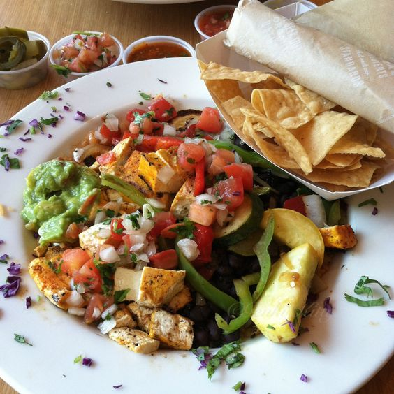 Vegan Options Sharky's Mexican Grill in California