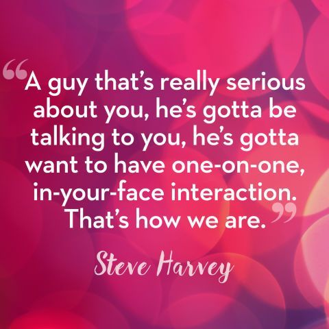 Steve Harvey s Dating Advice for Women