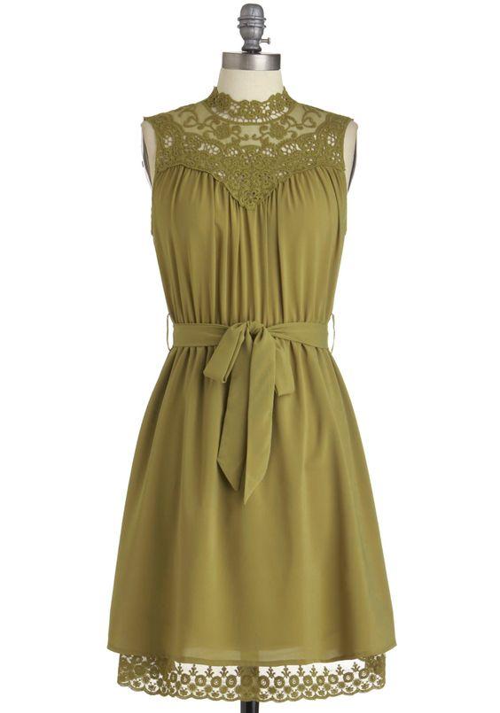 Kiwi to Success Dress by Modcloth