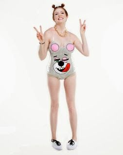 Miley Cyrus Halloween Costume Twerk Bear costume Halloween 2013 costume ideas at Simple/Fancy/Fun