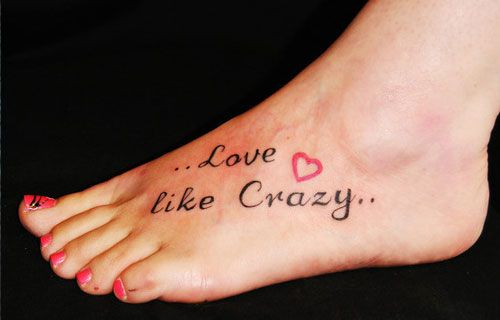 Cute Tattoo Designs Women   25 Cute Foot Tattoos Which Look Amazing   CreativeFan