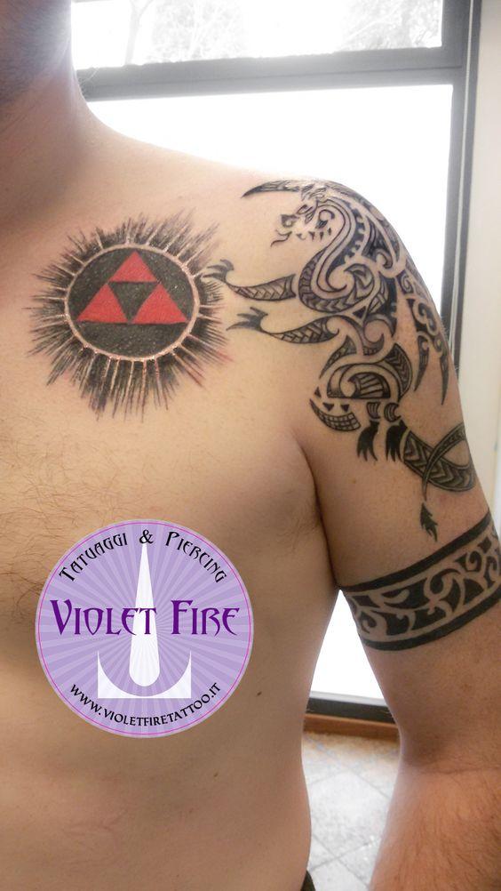 Maori Fire Tattoo: Tatuaggio Fantasy, Tatuaggio Personaggi, Tatuaggio