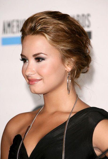 Messy Bun --Demi Lovato