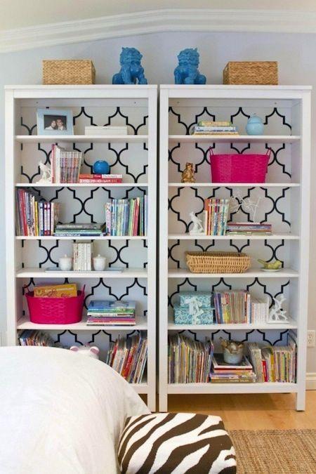 book shelves deco
