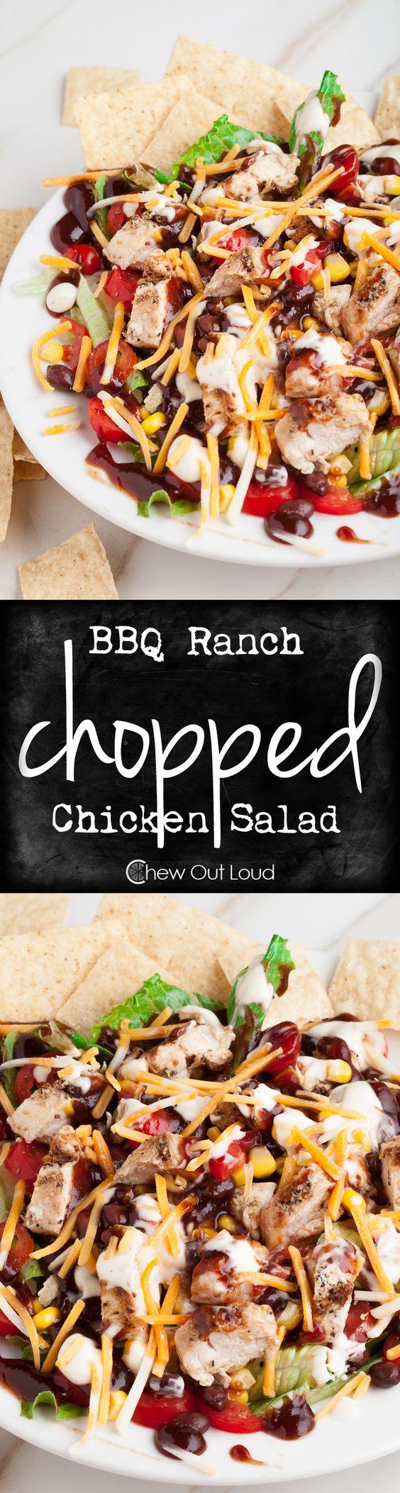 Simple chicken salad dressing recipe