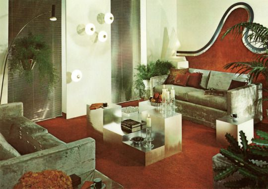 Popular Modernism 70s Decor Modern Futuristic Design