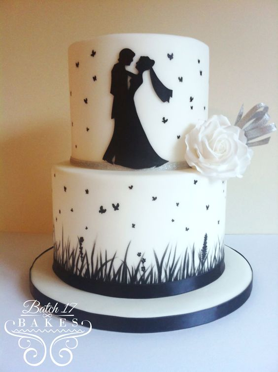 google images wedding cakes silhouette wedding cake search svadba 14866