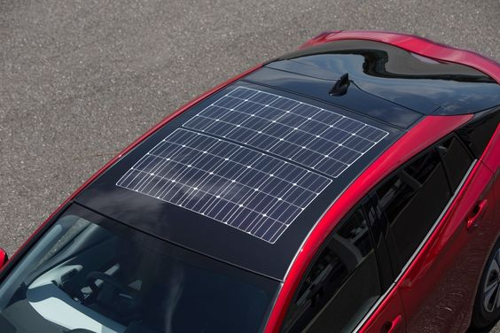 Now that's a sunroof: Toyota Prius Prime features Panasonic-built solar panels