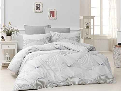 Dose Of Modern Break Brown Ranforce Super King Quilt Cover Set Eu It 110bhr53011 White Brown In 2020 Quilt Cover Sets Single Quilt Home