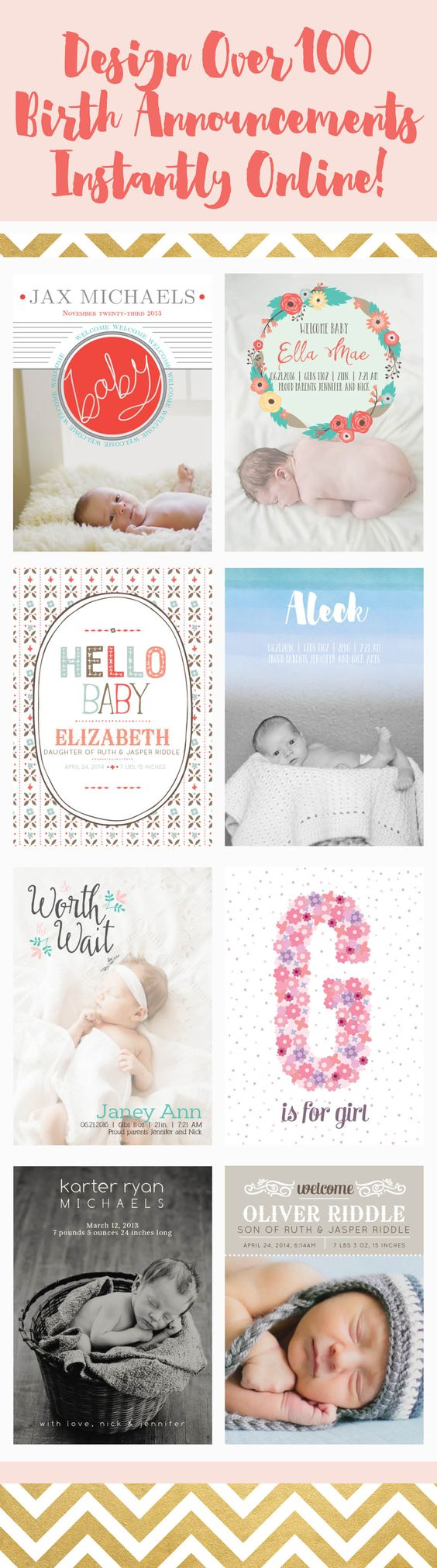 texts  births and baby announcement cards on pinterest