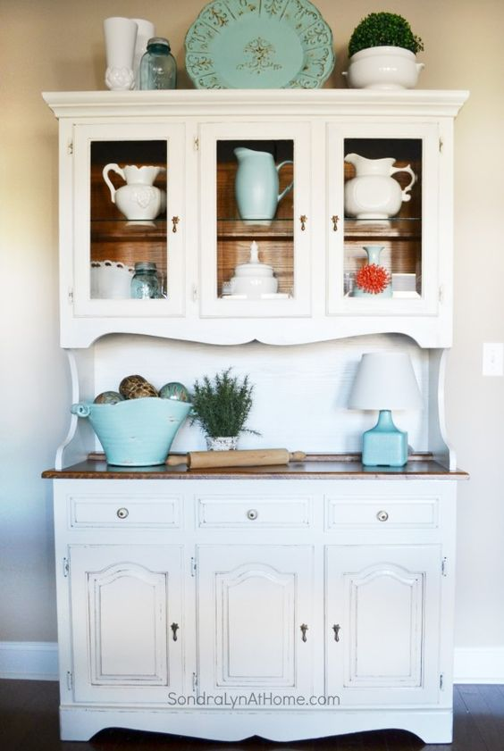 ideas about hutch decorating on pinterest pallet hutch black hutch