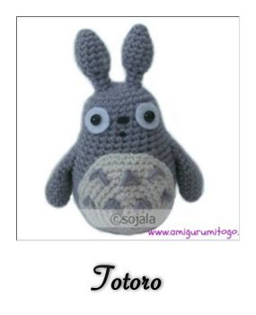 patron gratis amigurumi totoro, site is in spanish but i ...